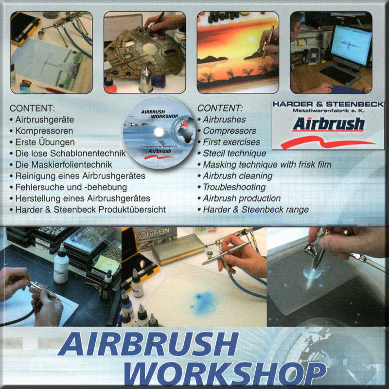 H&S Airbrush Workshop DVD